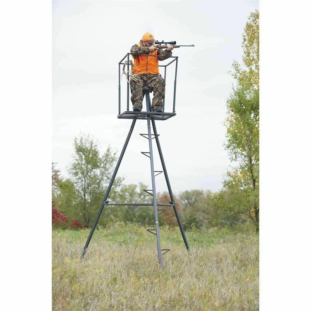 Ad(eBay) Portable 13' Ladder Hunting Stand Tripod