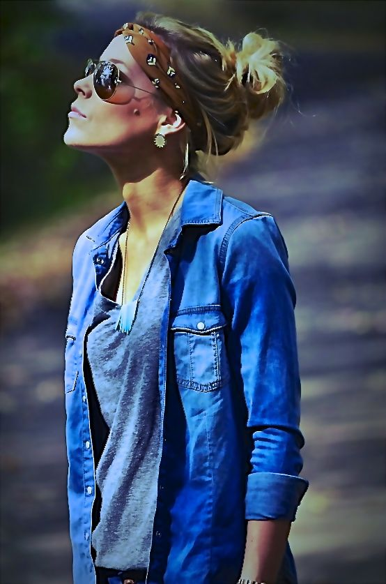 Jean Boyfriend shirt    (Pieza clave para muchos outfits)