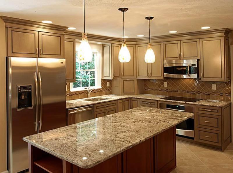 lovely island in kitchen nice design
