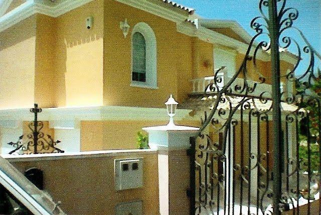 Pintura fachada for the home pinterest exterior and - Pintura fachada exterior ...