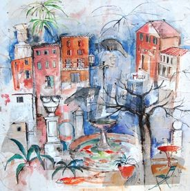 N e en 1969 c cile colombo est une artiste peintre - Artiste peintre marseille ...
