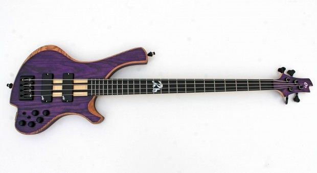 This week we take a look at another eye-catching bass from o3 Custom Guitars called the Rhodium. The Spanish-made bass is also called the Purplehaze due to its gorgeous purple satin finish over its ash body. Its neck is a five-piece laminate comprised of flamed maple and wenge with a pau ferro toneblock. The bass...