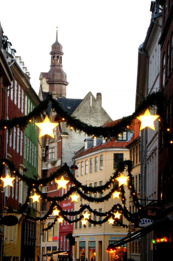 #Copenhagen is very cosy during #Christmas with decorated lights in the streets.  Tivoli is definitely worth a visit at Christmas time.
