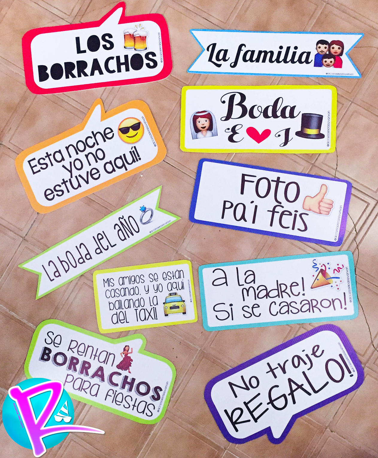 Letreros para boda!! #letrerospersonalizados #bodas https://www ...