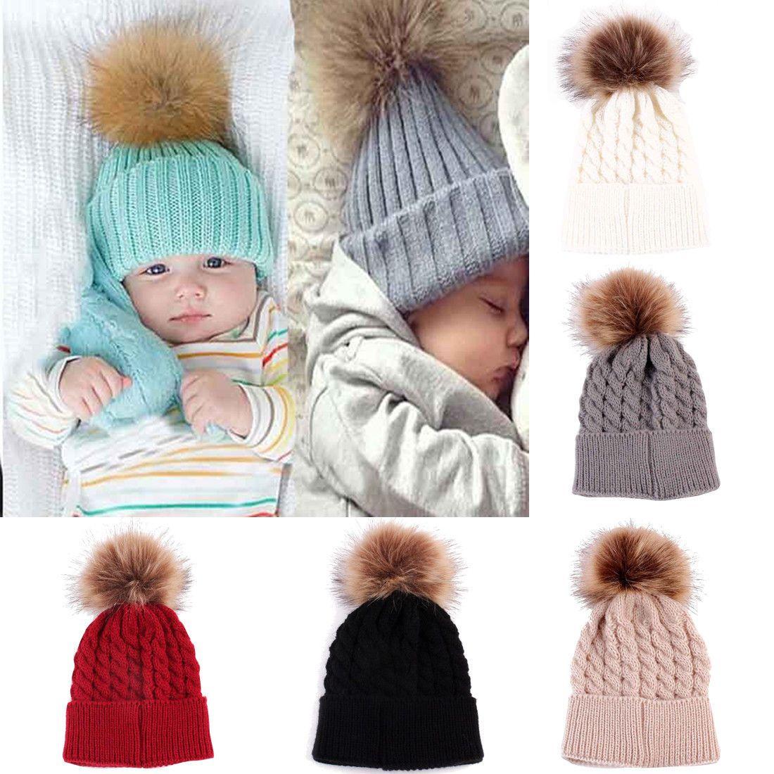 b8bd35e2f0fa3  2.04 - Newborn Toddler Kid Girl Boy Baby Infant Winter Warm Crochet Knit  Hat Beanie Cap  ebay  Fashion