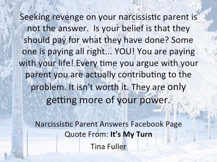 revenge on narcissist - Google Search | Narcissistic Mothers