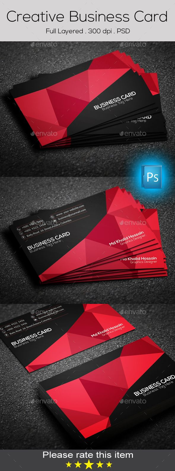 Photoshop business card color mode image collections card design creative business card by blackrose7 features cmyk color mode creative business card by blackrose7 features cmyk reheart Image collections