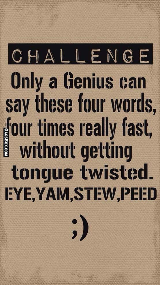 Dirty tongue twisters