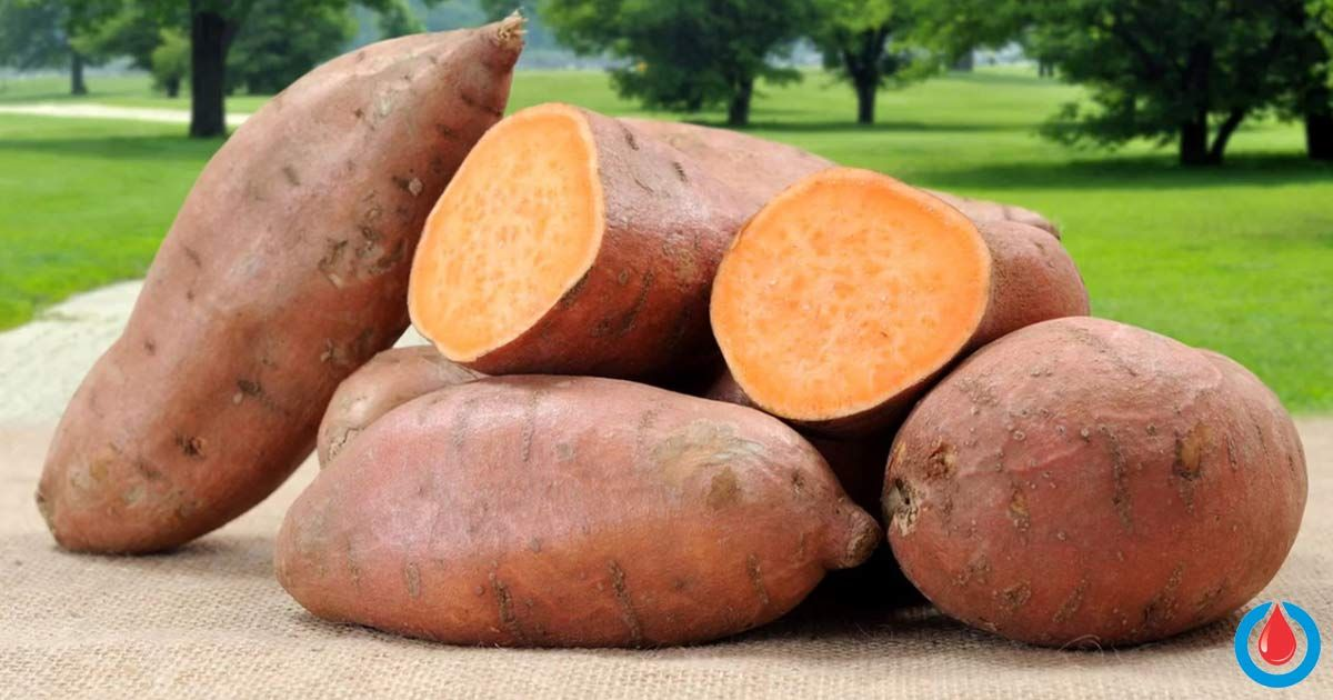 have you ever tried sweet potatoes this type of potato is a bit different in taste than the regular potato and the flesh can be yellow orange or white
