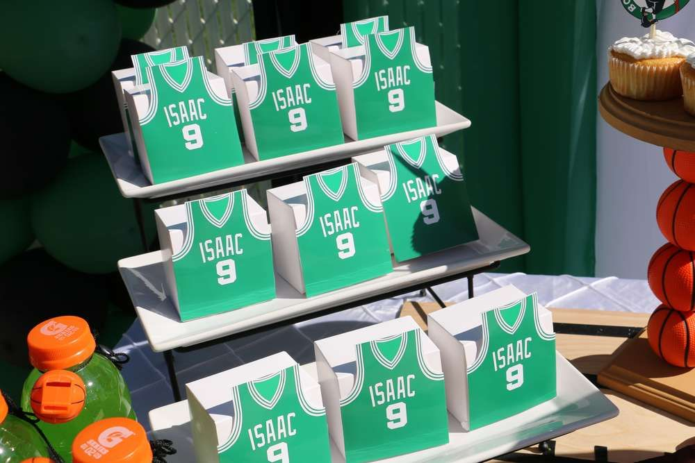Boston Celtics Birthday Party Ideas In 2019 Basketball Baseball