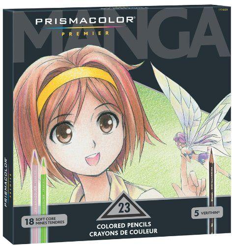 Prismacolor Premier Soft Core Colored Pencil,  Set of 23 Assorted Manga Colors  (1774800) - http://www.rekomande.com/prismacolor-premier-soft-core-colored-pencil-set-of-23-assorted-manga-colors-1774800/