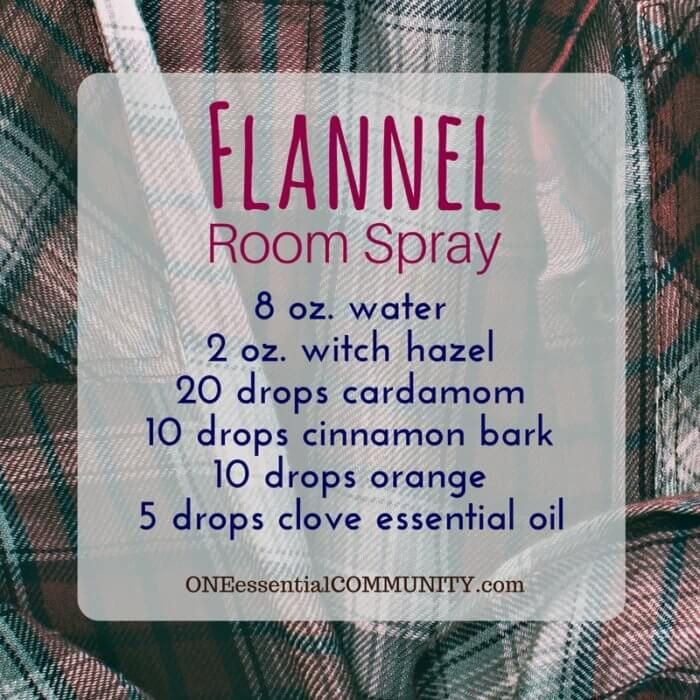 Make Room Smell Good: 20 Fall Room Sprays {made With Essential Oil} That Make