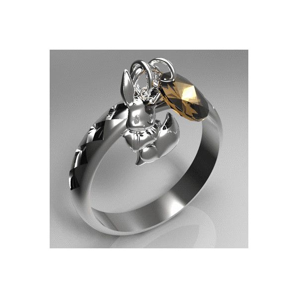 Eevee Ring Pokemon Know Your Meme ❤ liked on Polyvore featuring