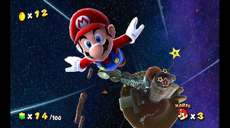"""Super Mario Galaxy """". (2007). Fue lanzada para Nintendo Wii y luego, en 2015, para Wii U. (Foto: captura de pantalla)    Nintendo, Wii u y Videojuegos"""
