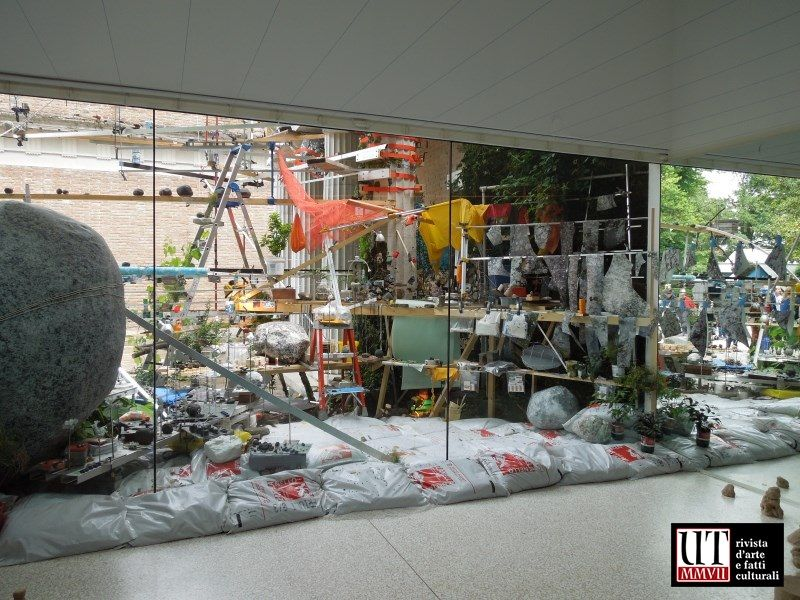 Ultimi passi alla 55. Biennale di Venezia: il laboratorio di Sze al padiglione degli Stati Uniti