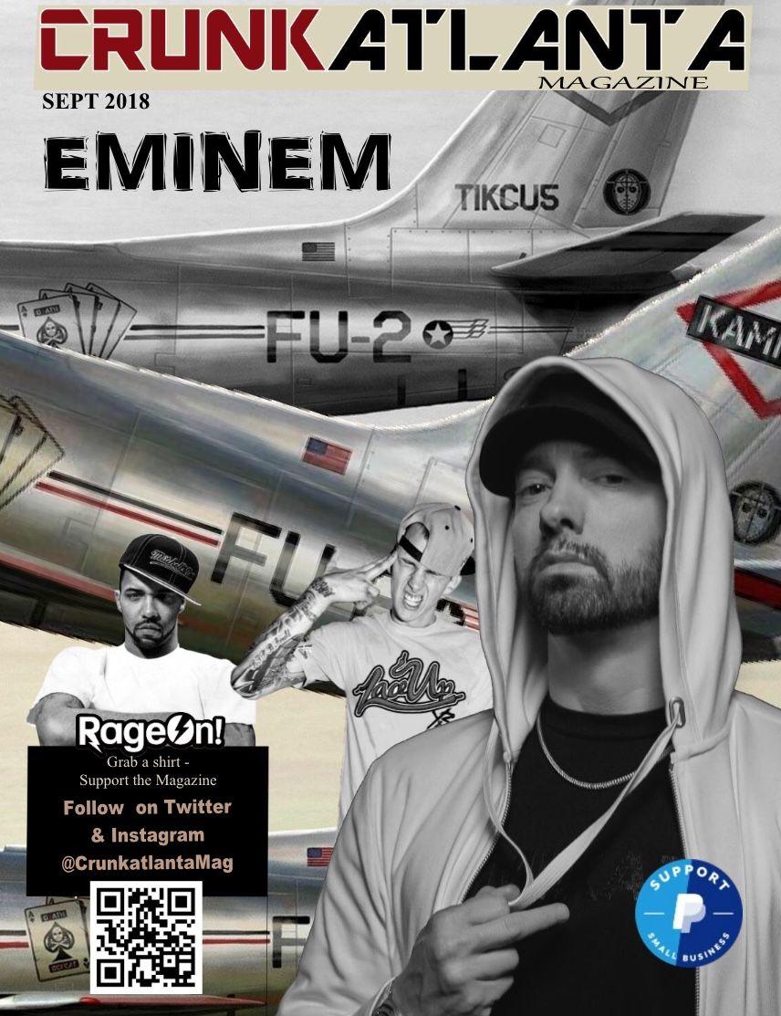 Pin by CrunkatlantaMag on CRUNKATLANTA MAGAZINE Eminem