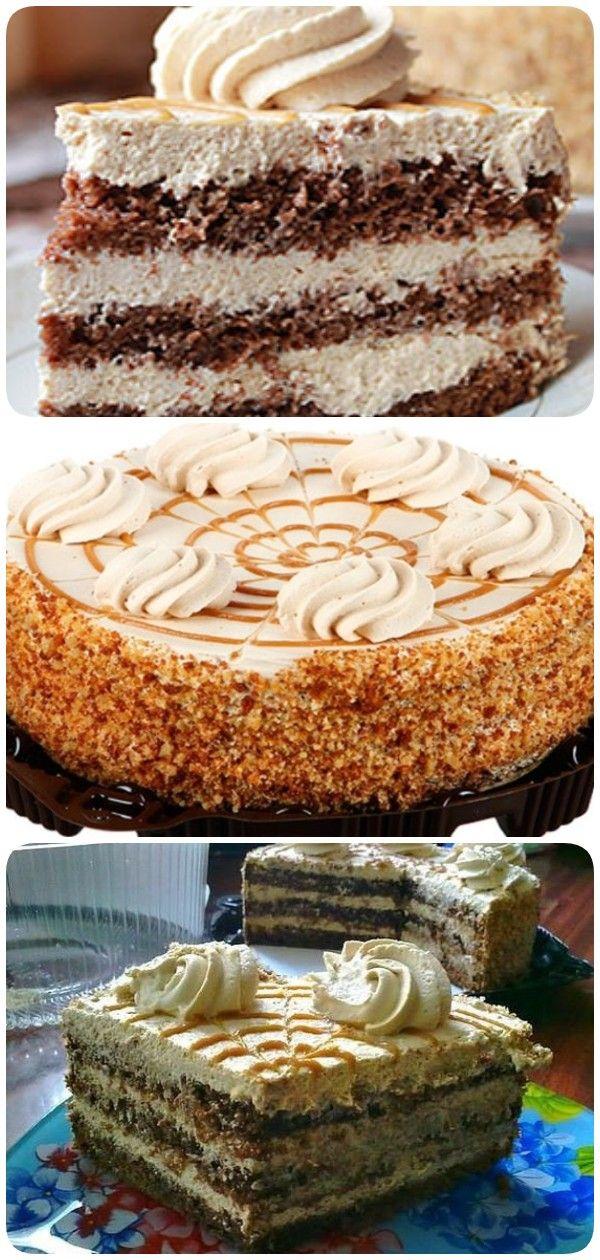 торт крем брюле кофе