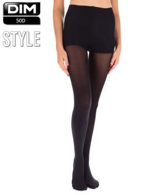 Collants DIM 50D Style. Effet opaque et sensation veloutée pour un confort  optimal et un 9e0c5b076d4