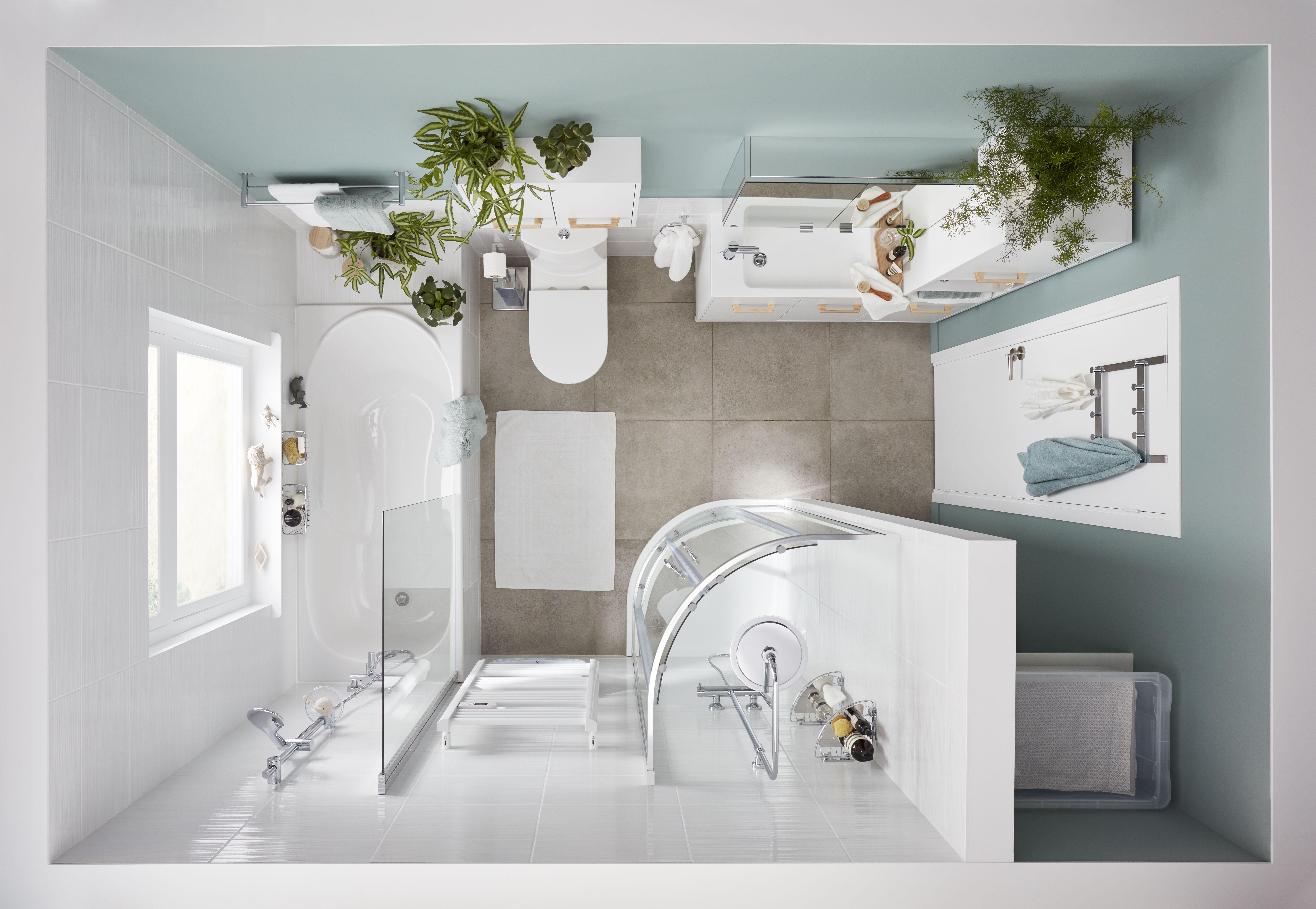 Goodhome Toujours Plus Simple Goodhome Maison Appartement Logement Salledebains Interieur Bricolage Am Inspiration Salle De Bain Salle De Bain Maison
