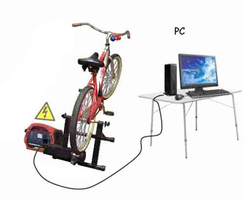 Build A Bicycle Generator Keep Fit And Generate Electricity
