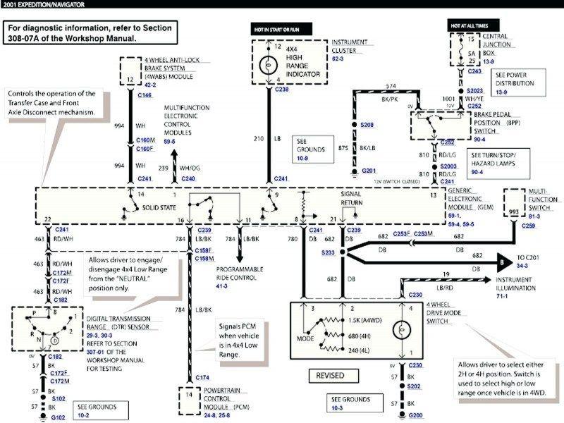 Electrical Wiring Diagram Diagrams 94 Lincoln La Sierra