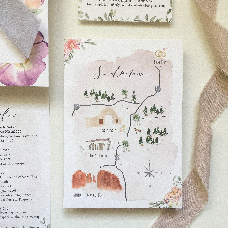 Custom Wedding Map Watercolor Wedding Map Printable Wedding Invitation Guest Map Wedding Invitation Template Custom Wedding Map Watercolor Wedding Map Map Wedding Invitation