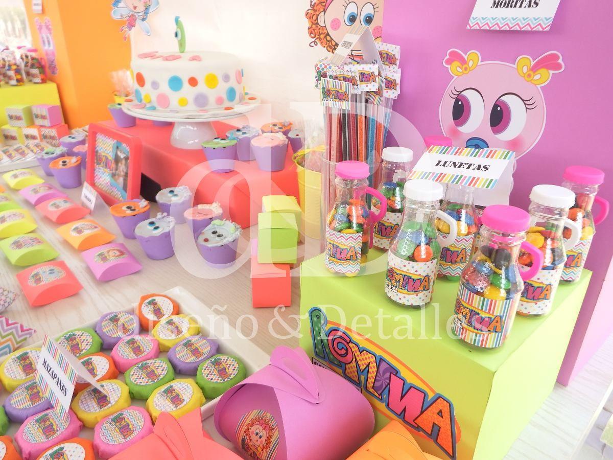 Mesa de dulces tem tica distroller fiestas infantiles - Mesa dulce infantil ...
