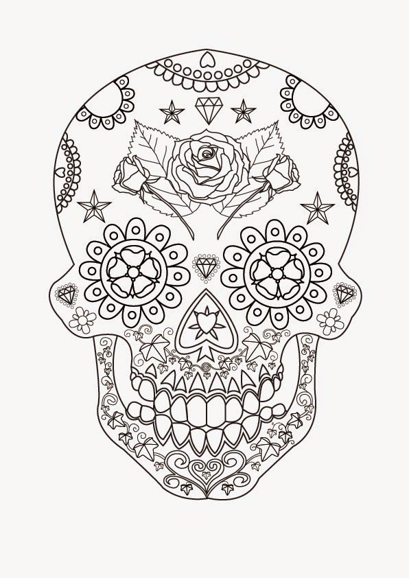 skull free printable coloring pages coloring.filminspector.com ...