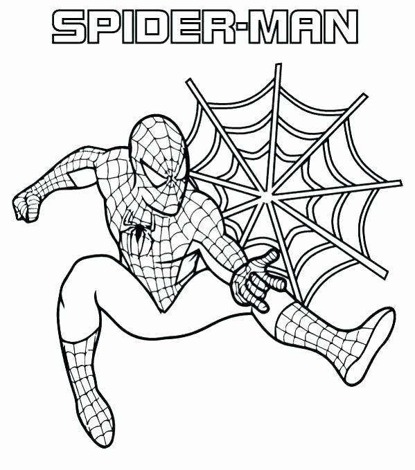 Spiderman Coloring Pages Free Printable Elegant Spiderman Coloring Pages Pdf In 2020 Superhero Coloring Pages Spiderman Coloring Avengers Coloring Pages