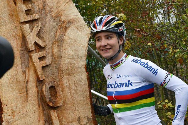 Opening MTB-parcours Broekpolder 16-11-13 @Bike2Build @Jennifer Miller Malley Bikes NL @Marianne Glass Vos