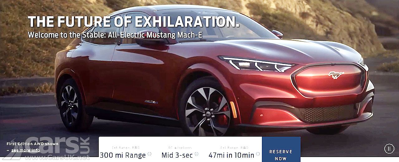 Electric Ford Mustang Mach E Officially Revealed And It S Coming