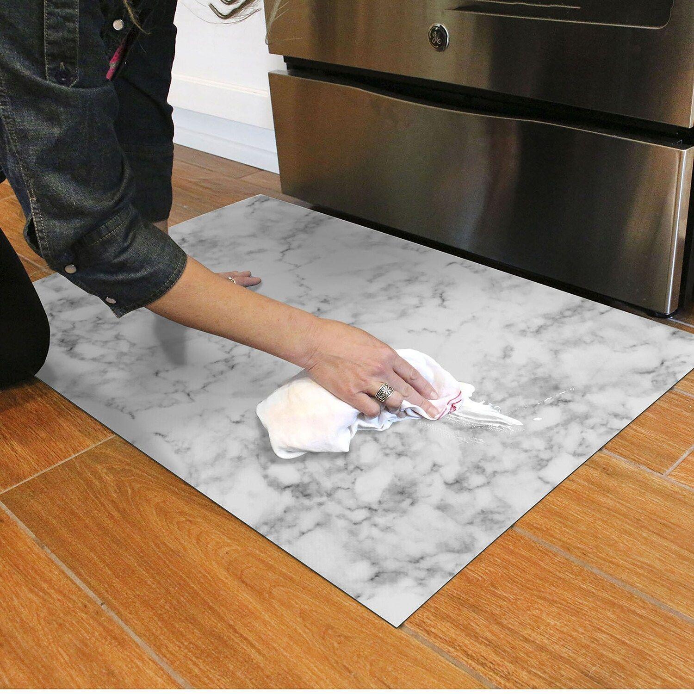 Florart Classic Marble 22 X 35 34 X 58 Mat In 2020 Kitchen Marble Kitchen Mat White Marble Kitchen