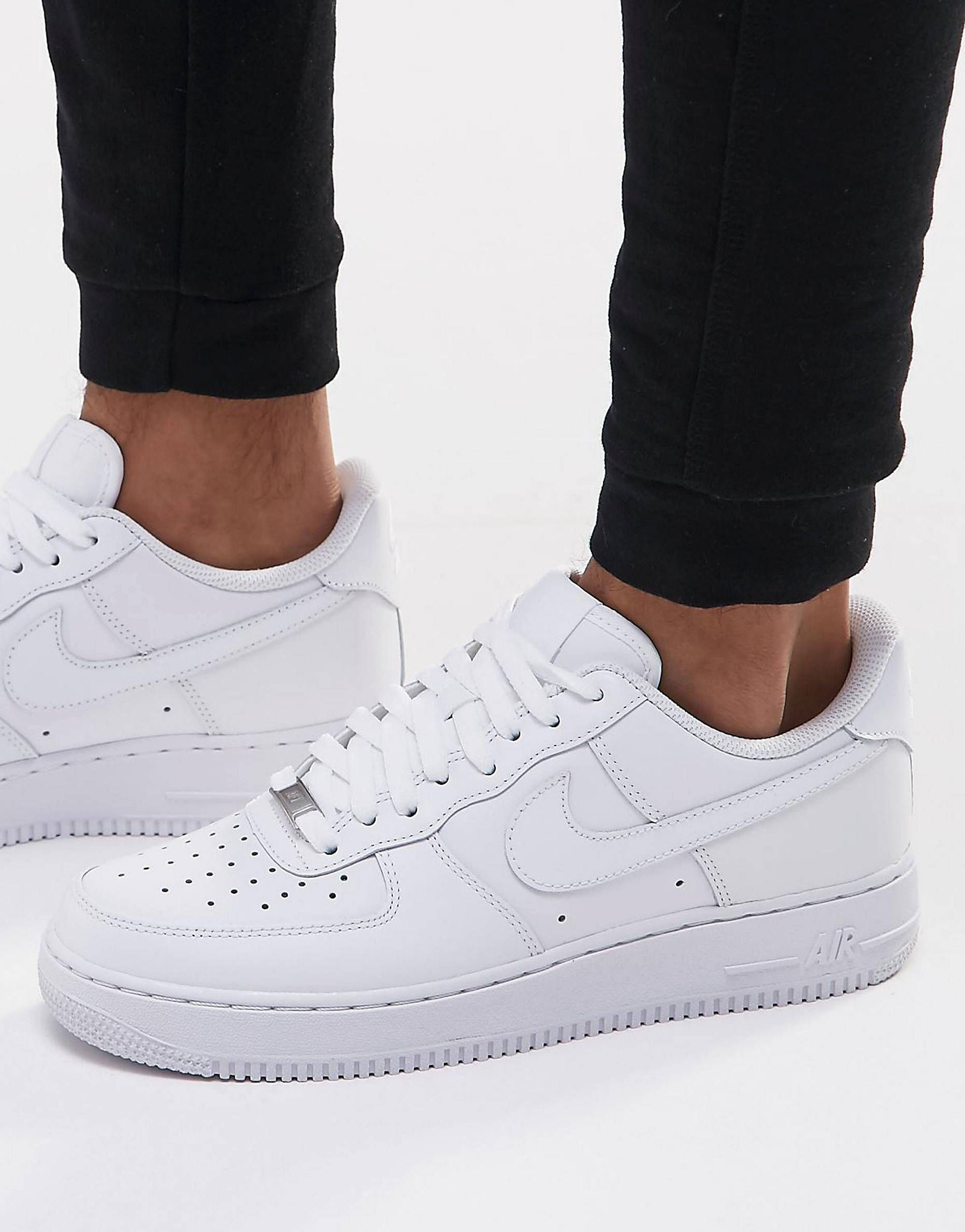 f58dee0184b42a Nike Air Force 1 '07 sneakers in white 315122-111 in 2019 | shoes ...