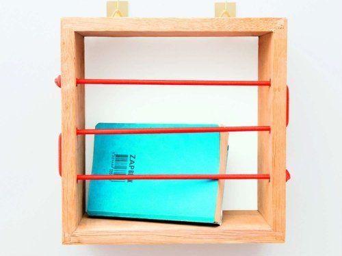 Diy Créer Une étagère En Cube De Bois Et Corde élastique