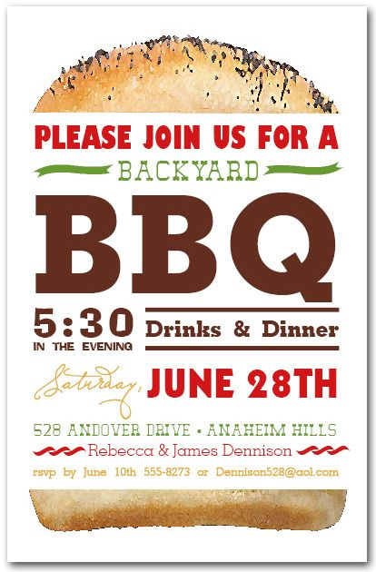 17 Best images about BBQ Art on Pinterest | Backyards, Invitation ...