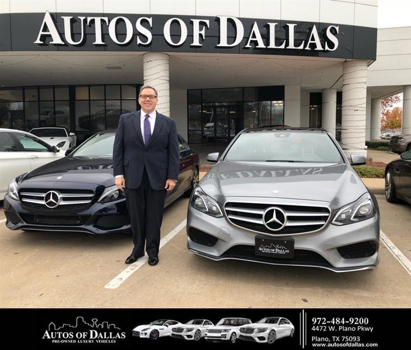 Congratulations Ronald on your MercedesBenz EClass