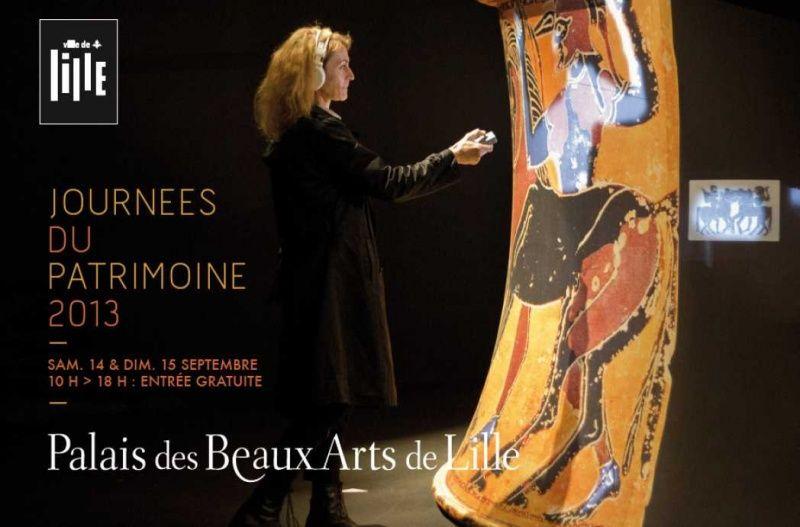 Journées européennes du patrimoine - Palais des Beaux-Arts de Lille - septembre 2013
