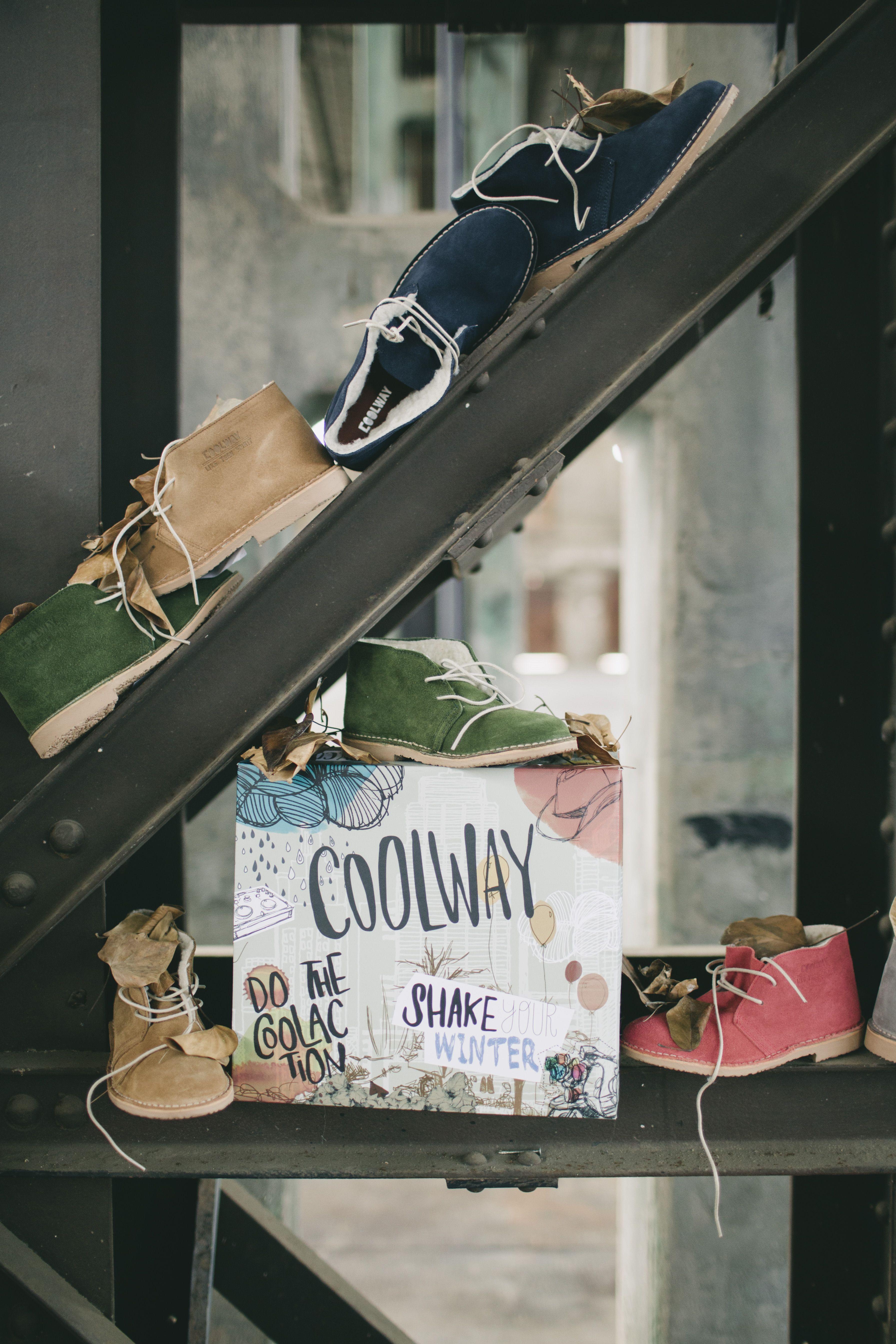 "Coolway. Shake your winter. Concepto para la campaña de Otoño invierno 2012 dentro del concepto de marca ""Do the Coolaction"""