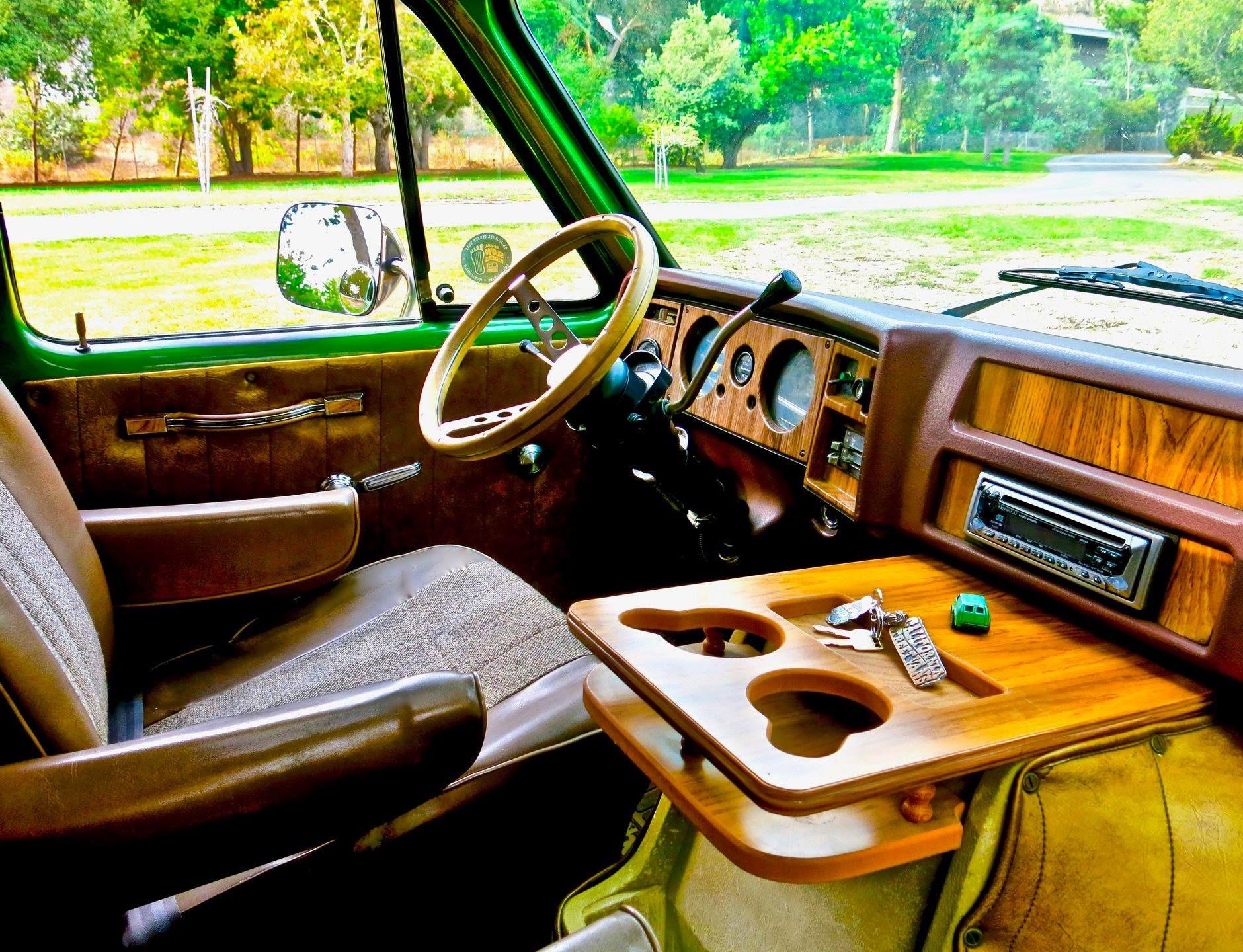 70s Chevy Van Dash Custom Van Interior Gmc Vans Custom Vans