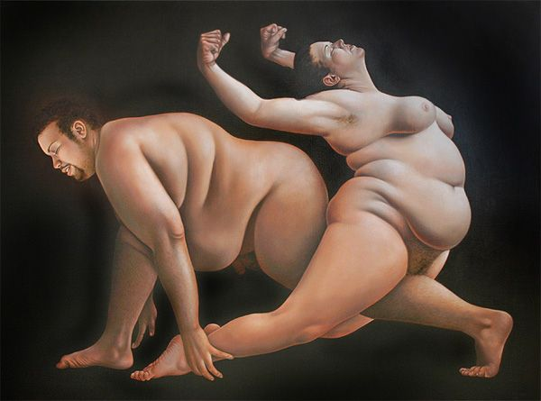 Petite Mort, 2009, Art of Lilli Hill