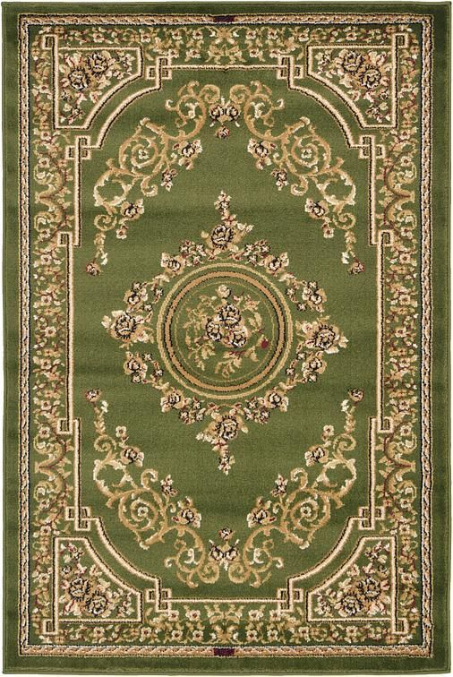 Light Green Classic Aubusson Area Rug Aubusson Rugs