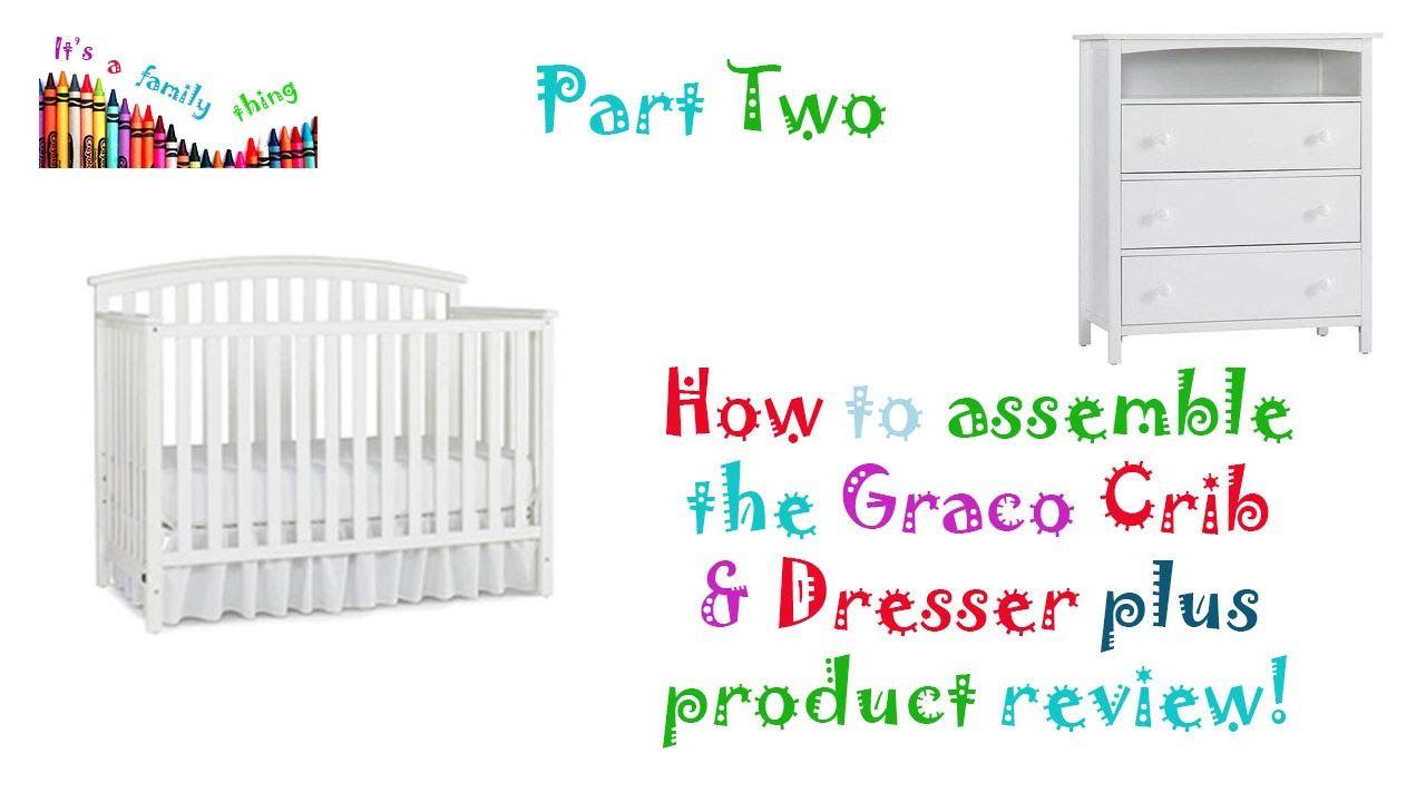 Youtube Baby Cribs Graco Lauren Crib Crib Assembly