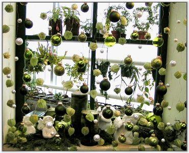 Fensterdeko bei einer ausstellung wohnen und garten foto - Wohnen und garten foto ...