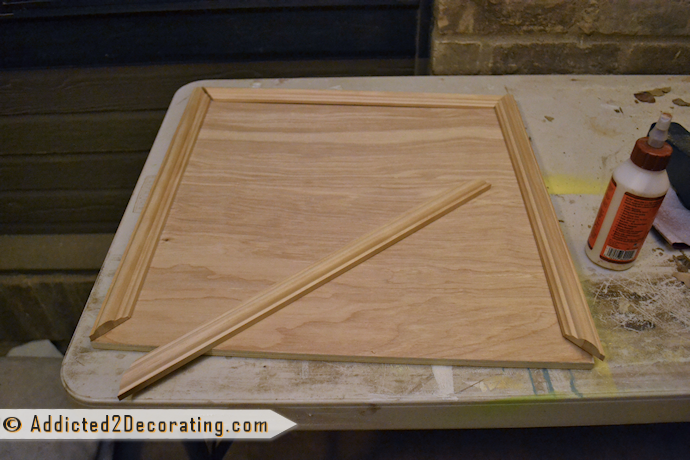Bathroom Makeover Day 3 U2013 How To Make Cabinet Doors (Without Using Special  Tools)