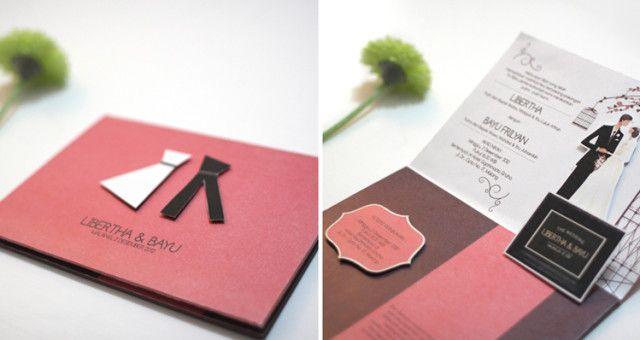 62 Contoh Desain Undangan Pernikahan Unik Sealkazz Blog Places