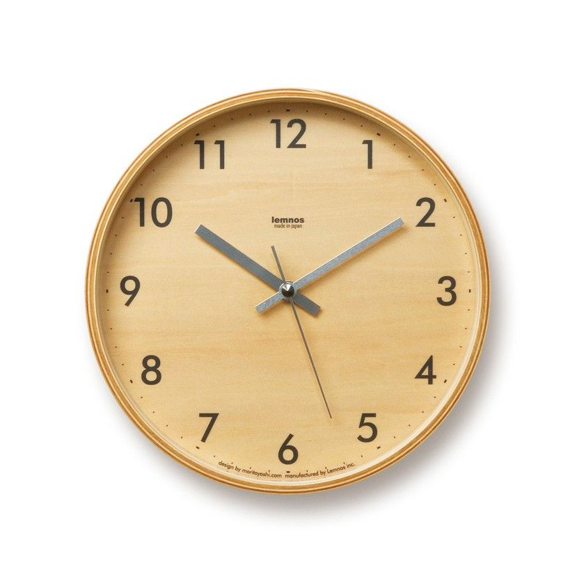 Time is of the essence, but so is good design. The Minimalist Plywood Clock reminds you to stay on top of appointments in high, minimalist style. Made from durable plywood with Seiko's silent hand sweep movement.