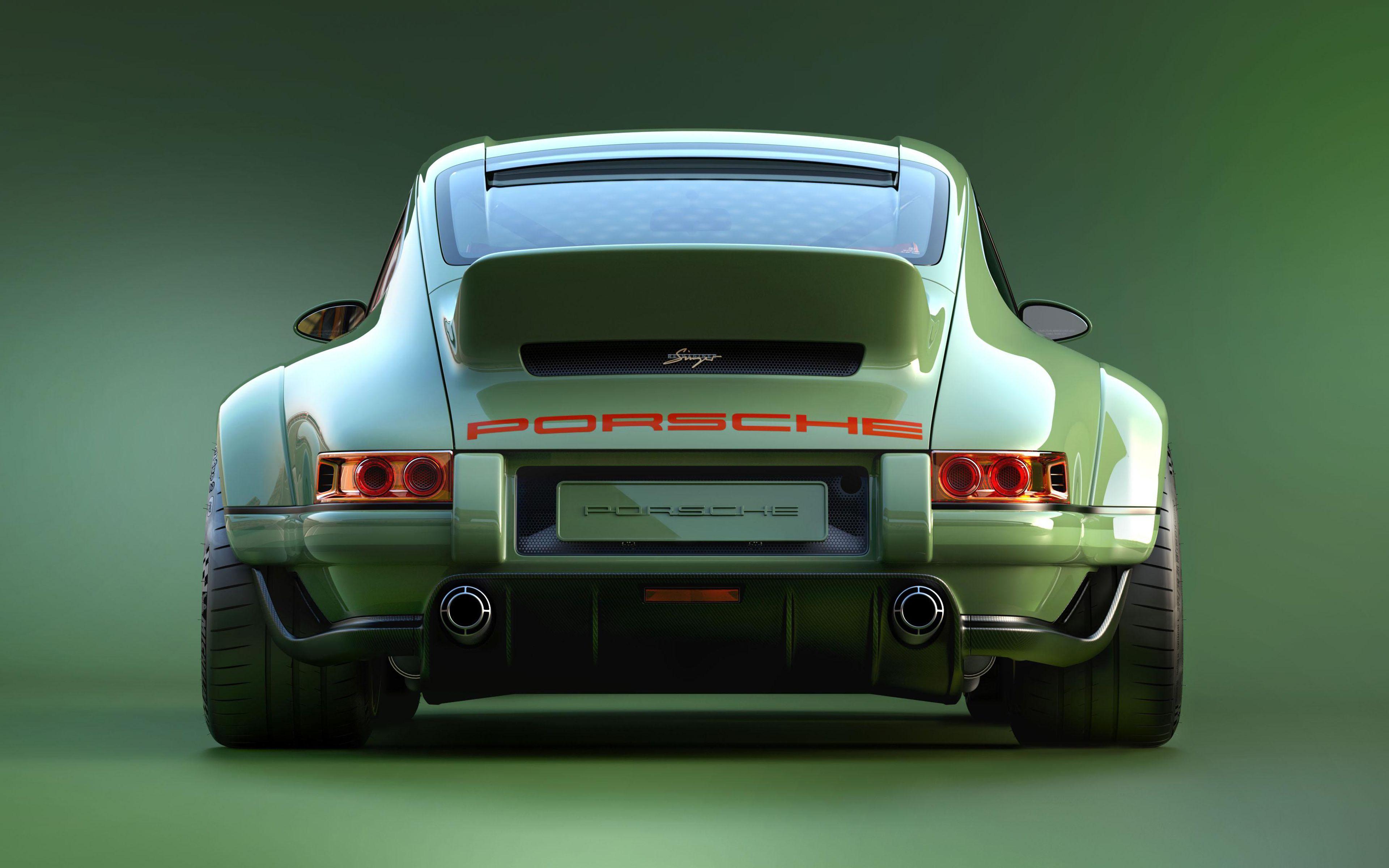Descargar fondos de pantalla Porsche 911, 4k, supercars, Cantante, tuning, Porsche monitor con una resolución 3840×2400. Imagenes de escritorio