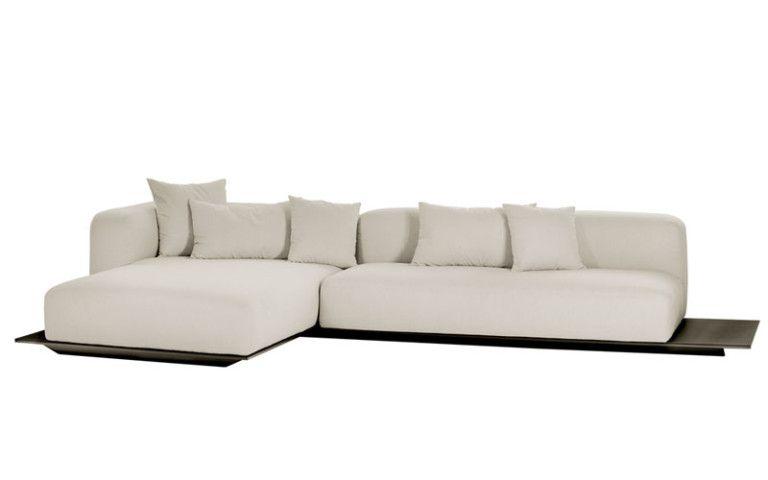 Sofá Plato com Chaise - Novo Ambiente | Catálogo