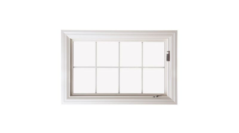 The Pella Architect Wood Awning window can be painted and ...