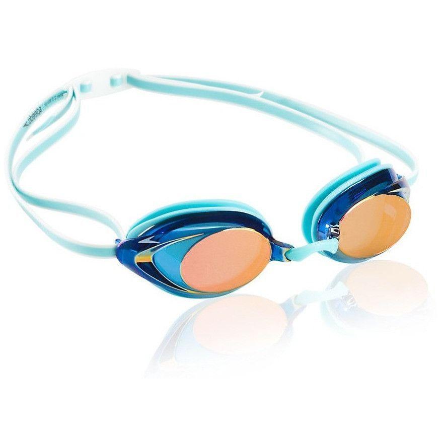 Speedo Women s Vanquisher 2.0 Mirrored Goggle  ce68b23614
